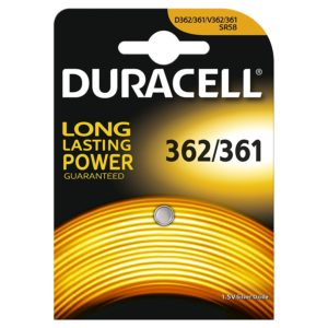 Amazon- Buy Duracell Specialty Type 362/361 Silver Oxide Camera Battery