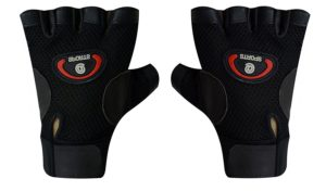 Amazon - Buy Sports Leather Fitness Gloves at up to 82% off