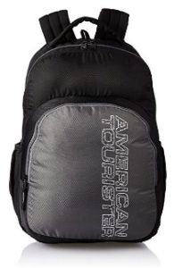 American Tourister 27 Ltrs Black Casual Backpack