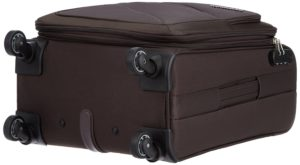 American Tourister Peru Polyester 55 cms Brown at Rs.2765 only