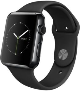 Apple Watch 42 mm Space Black only at Rs.25,999