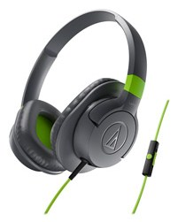 Audio Technica Ax1is Sonicfuel On-Ear Headphone (Grey) at Rs.994