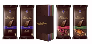 Bournville Library Gift Pack, 320g (Congratulations)