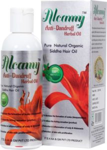 Buy Alcamy Anti Dandruff Herbal Hair Oil (100 ml) for Rs.94 only