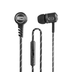 Buy Altec Lansing MZX147 In-Ear Headphones with Mic (Black) for Rs.399 only