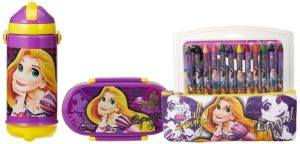 Buy Disney Princess Rapunzel back to School stationery combo set, 999, Multicolor for Rs.365 only