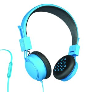 Buy JLab INTRO Premium On-Ear Headphones with Universal Mic, Blue for Rs.599 only