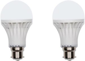 Buy Limelight 9 W B22 LED Bulb (White, Pack of 2) for Rs.120 only