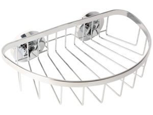 Buy Miamour Push-Lock Steel Basket, Silver for Rs.568 only
