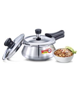 Buy Prestige Deluxe Alpha 1.5 Stainless Steel OuterLid Pressure Cooker for Rs.999 only