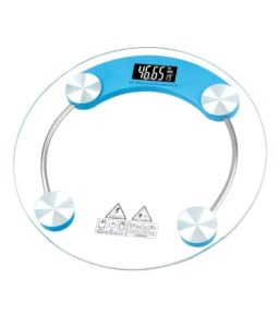 Buy Skyweigh Glass LED Display Bathroom Weighing Scale - Capacity 180 kg for Rs.450 only