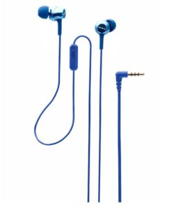 Buy Sony MDR-EX255AP In Ear Wired Earphones With Mic for Rs.1,195