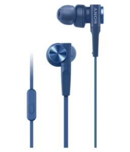 Buy Sony MDR-XB55AP In Ear Wired Earphones With Mic for Rs.1,085 only