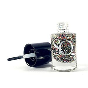 Buy Stay Quirky Glitter Nail Polish, Sugar with Pop 611, 11ml for Rs.99 only