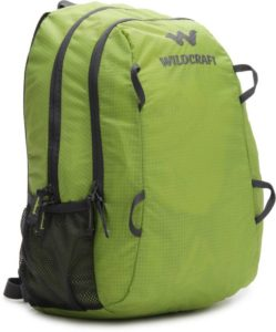 Buy Wildcraft Aro Backpack (Green) for Rs.649 only