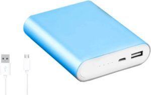 Buy msmi mi4s Ultra Super Backup 10400 mAh Power Bank (Blue, Lithium-ion) for Rs.584 only