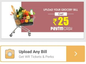Crownit - Upload Any Grocery Bill And Get 25 Paytm cash
