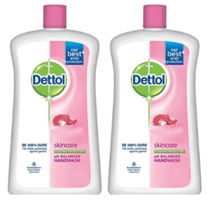 Dettol Skincare Liquid Jar - 900 ml (Pack of 2)