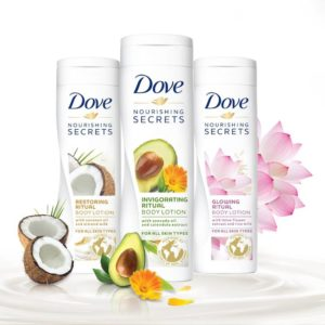 Dove body lotions at flat 43% off