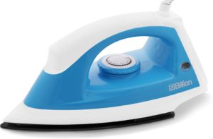 Flipkart - Billion 1000 W, 1100W Dry Iron at 63-65% off
