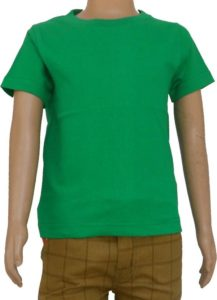 Flipkart Steal- Buy DoubleF Boys Solid Hoisery T Shirt