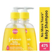 Johnson's Baby Shampoo - No More Tears 475 ml (Pack of 2)