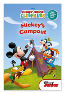 Mickey's Campout Hardcover at rs.30