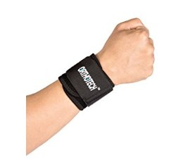 Orthotech OR-5110 Wrist Support ( Free Size , Black)
