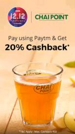 Paytm chaipoint Offer