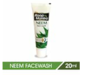 Roop Mantra Neem Face Wash 20ml, Pack of 24