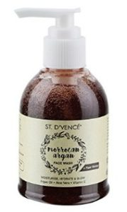 ST. D'VENCÉ Moroccan Argan Oil & Raw Honey Face Wash, 150 ml