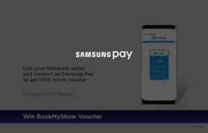 Samsung pay Mobikwik Offer