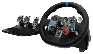 Logitech G29 Racing Wheel Joystick (Black, For PS4, PS3, PC)
