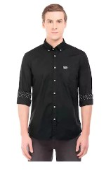 U.S. Polo Assn. Men Solid Full Sleeve Shirt
