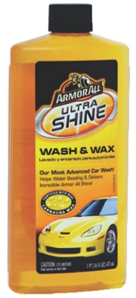 Armor All 25178US Ultrashine Wash and Wax (473 ml)