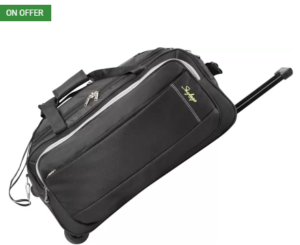 Skybags Cardiff (E) 25 inch63 cm Duffel Strolley Bag (Black) at rs.1463