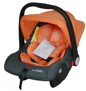 Sunbaby Rearward Facing Bubble CarSeat (Orange) at rs.1949