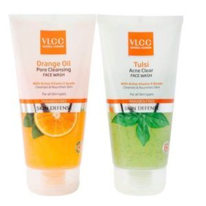 VLCC- Buy VLCC Tulsi Face wash (150 ML) + Orange Oil Face wash free (150 ML)