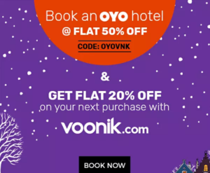 Voonik Oyo Offer