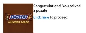 amazon-snickers-maze-solved-puzzle-sticker