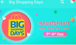 big shopping days 2017 flipkart app december best offers and deals at one place dealnloot