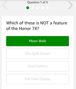 honor 7x quiz answers and questions dealnloot amazon app