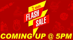 (5 PM to 7 PM) Littleapp – Flash sale : Buy Pizzas, Spa deals and more at a discounted price image