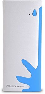 (Lowest Ever) Flipkart – Ambrane P-1122 NA 10000 mAh Power Bank (White, Blue, Lithium-ion) at Rs. 599 only. image