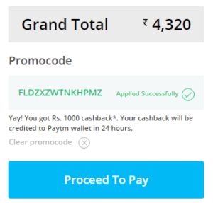 paytm 1000 cb flight code