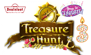 treasure-hunt-3rd-birthday-contest-dealnloot