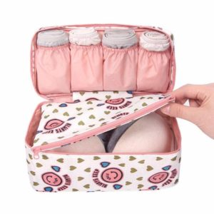 (Over) Amazon- Buy AEXiVE Multifunctional Bra Underwear Organizer Travel Bag With Handle at Rs 99 image