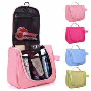 Amazon- Buy AEXiVE Toiletry Bag For Men & Women Hanging Toiletries Kit For Makeup, Shaving, Travel Accessories Organizer at Rs 99 image
