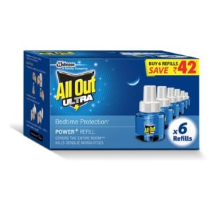 Amazon- Buy All Out Ultra Clear Refill Saver (270ml, Pack of 6) at Rs 290 image