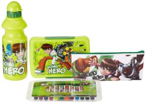 Amazon- Buy Cartoon Network Ben 10 back to School stationery combo set, at Rs 250
